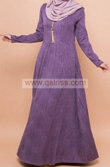 Glittered Jubah with side pocket