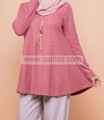Ironless Glitter Blouse DR
