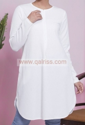 Ironless Tunic WHITE