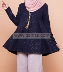 Ironless Glitter Blouse DB