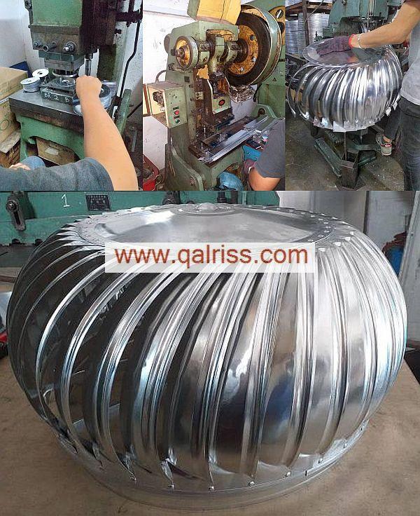 proses pemasangan turbine ventilator
