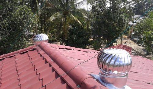 Turbine Ventilator - hilangkan haba panas di rumah